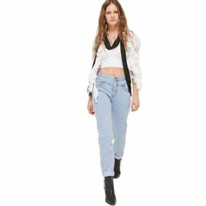 BDG Hight Waist Mom Jeans- Seamed Yoke